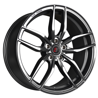 "19"" 2Forge ZF3 Matt GunMetal Alloy Wheels"