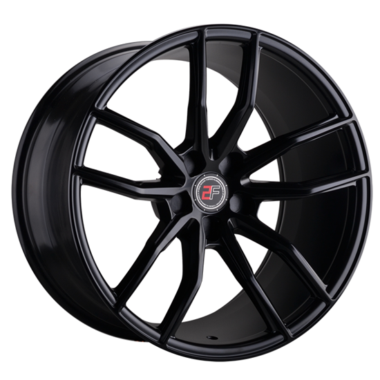 "20"" 2Forge ZF4 Satin Black Alloy Wheels"