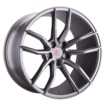 "20"" 2Forge ZF4 Light GunMetal Alloy Wheels"