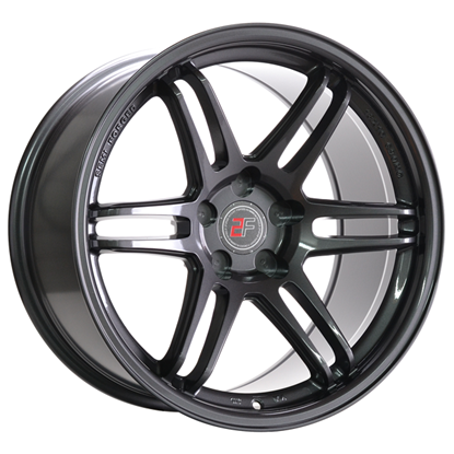 "18"" 2Forge ZF5 Gloss GunMetal Alloy Wheels"