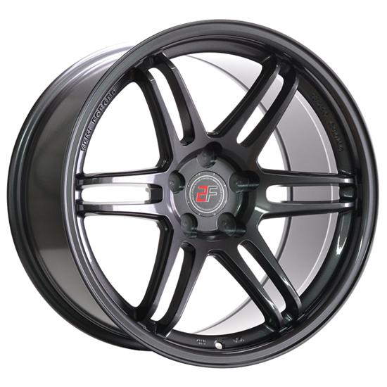 "18"" 2Forge ZF5 Gloss GunMetal Alloy Wheels"