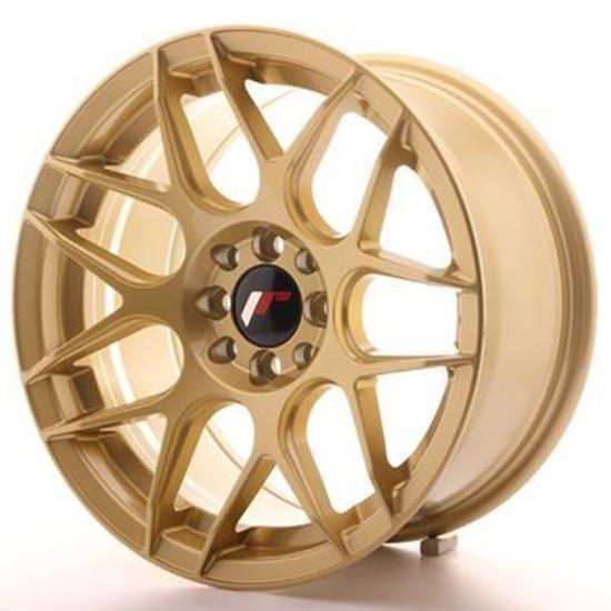 Japan Racing JR18 Gold Alloy Wheels