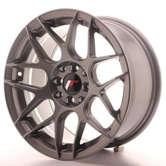 Japan Racing JR18 Gunmetal Alloy Wheels