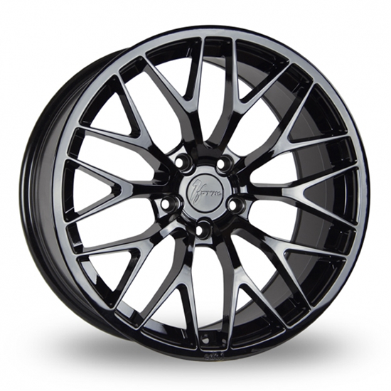 "18"" 1Form Edition 1 EDT.1 Liquid Black Alloy Wheels"