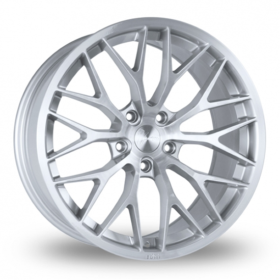 """18"""" 1Form Edition 1 EDT.1 Brushed Pure Silver Alloy Wheels"""