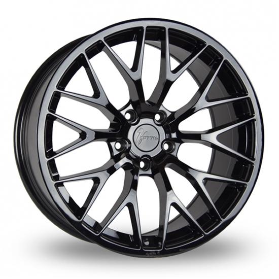 "19"" 1Form Edition 1 EDT.1 Liquid Black Alloy Wheels"