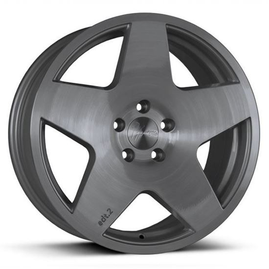 """18"""" 1Form Edition 2 EDT.2 Brushed Graphite Alloy Wheels"""