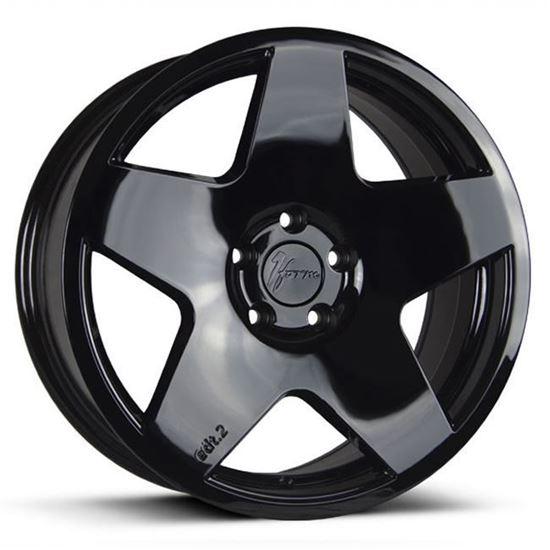 "18"" 1Form Edition 2 EDT.2 Liquid Black Alloy Wheels"