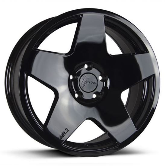 "18"" 1Form Edition 2 Transit EDT.2T Liquid Black Alloy Wheels"