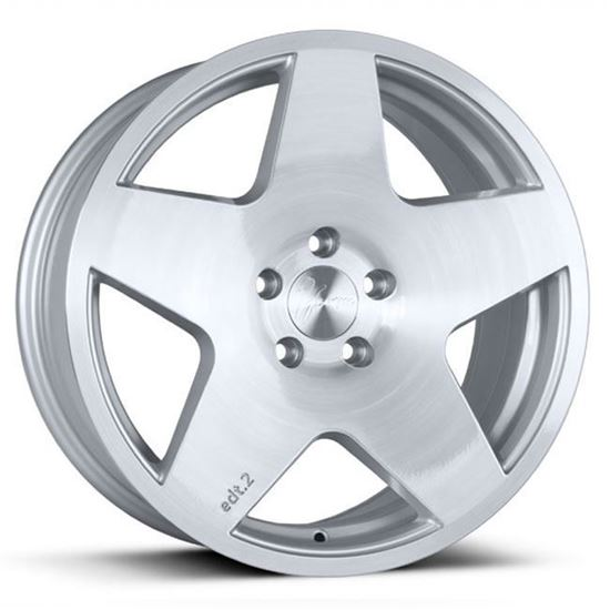 "18"" 1Form Edition 2 Transit EDT.2T Brushed Pure Silver Alloy Wheels"