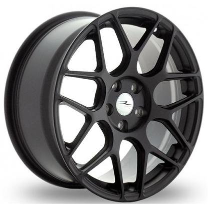 "19"" River R-3 Matt Black Alloy Wheels"