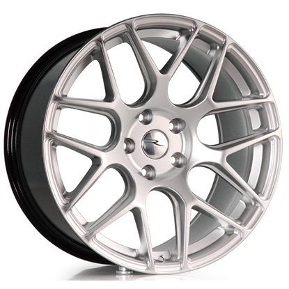"19"" River R-3 Hyper Silver Alloy Wheels"