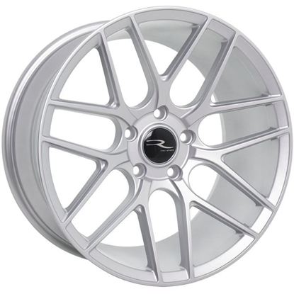 "18"" River R-7 Matt Silver Alloy Wheels"