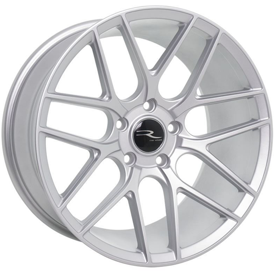 "18"" River R-7 Matt Silver Alloy Wheels"