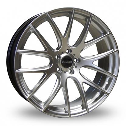 "18"" Dare NK1 Hyper Silver Alloy Wheels"