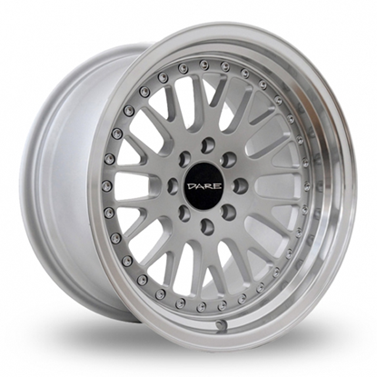 "16"" Dare DCC Silver Alloy Wheels"