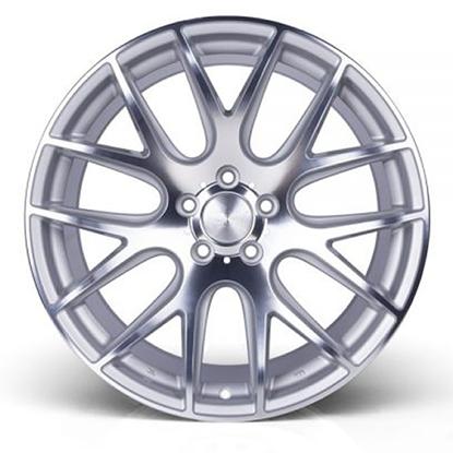 """20"""" 3SDM 0.01 Silver Cut Alloy Wheels"""