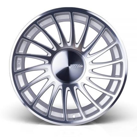 """18"""" 3SDM 0.04 Silver Cut Alloy Wheels"""