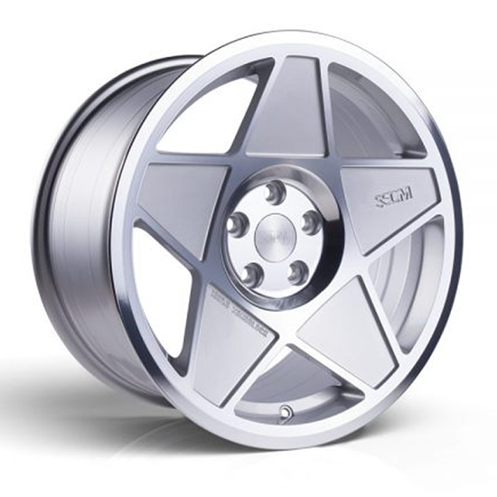 """18"""" 3SDM 0.05 Silver Cut Alloy Wheels"""