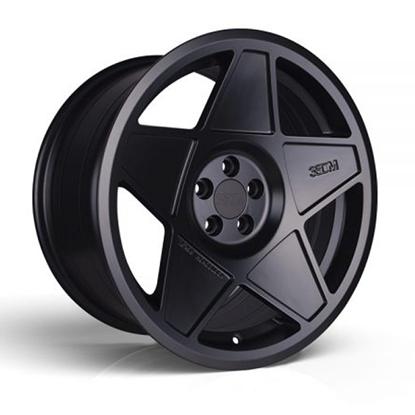 """18"""" 3SDM 0.05 Satin Black Alloy Wheels"""
