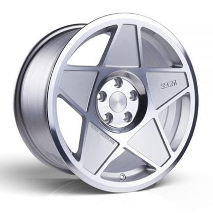 """19"""" 3SDM 0.05 Silver Cut Alloy Wheels"""