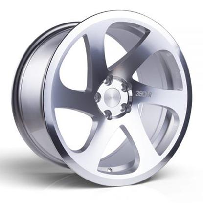 """18"""" 3SDM 0.06 Silver Cut Alloy Wheels"""