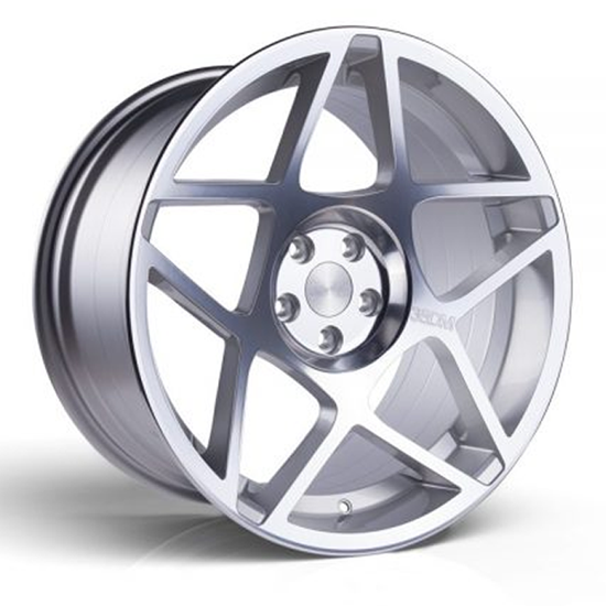 """20"""" 3SDM 0.08 Silver Cut Alloy Wheels"""