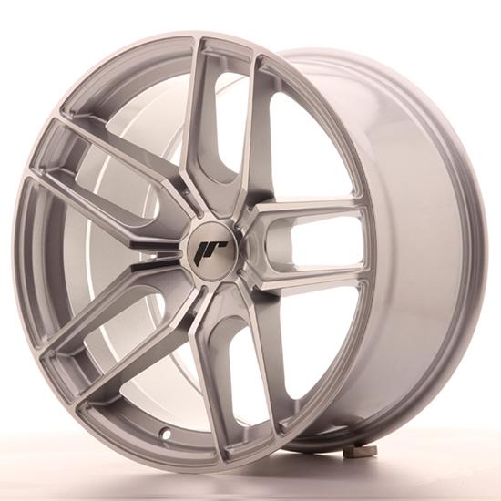 "18"" Japan Racing JR25 Silver Alloy Wheels"