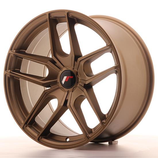 "19"" Japan Racing JR25 Bronze Alloy Wheels"