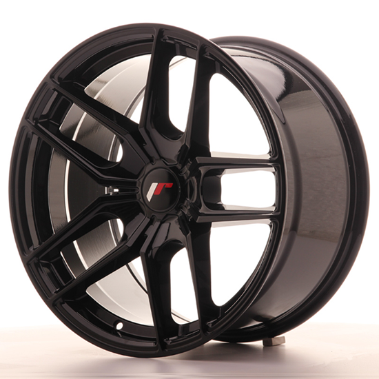 "19"" Japan Racing JR25 Gloss Black Alloy Wheels"