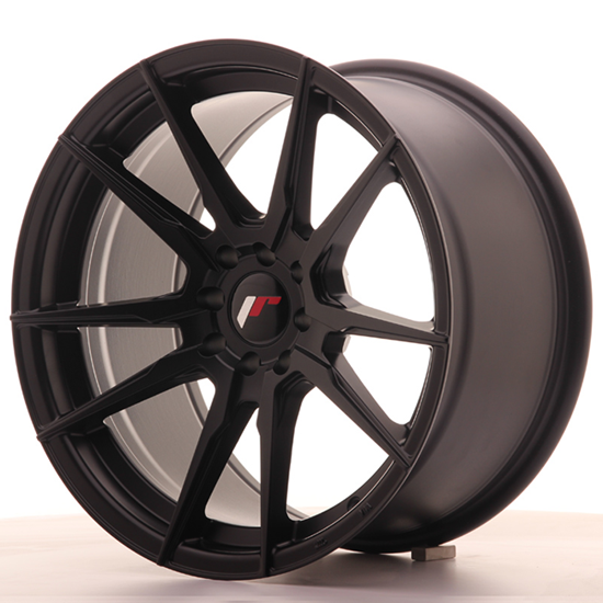 "20"" Japan Racing JR21 Matt Black Alloy Wheels"