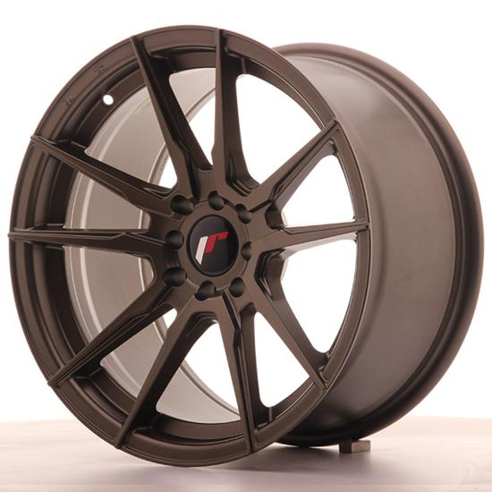 "20"" Japan Racing JR21 Matt Bronze Alloy Wheels"