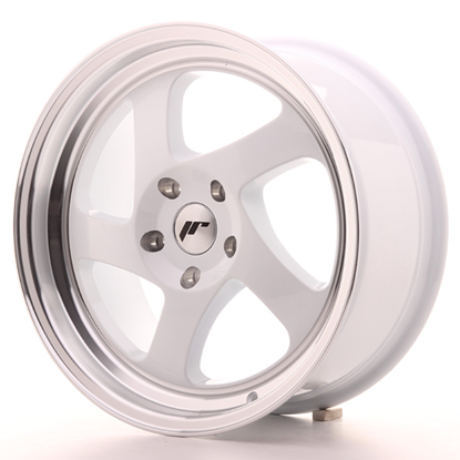 "15"" Japan Racing JR15 White Alloy Wheels"