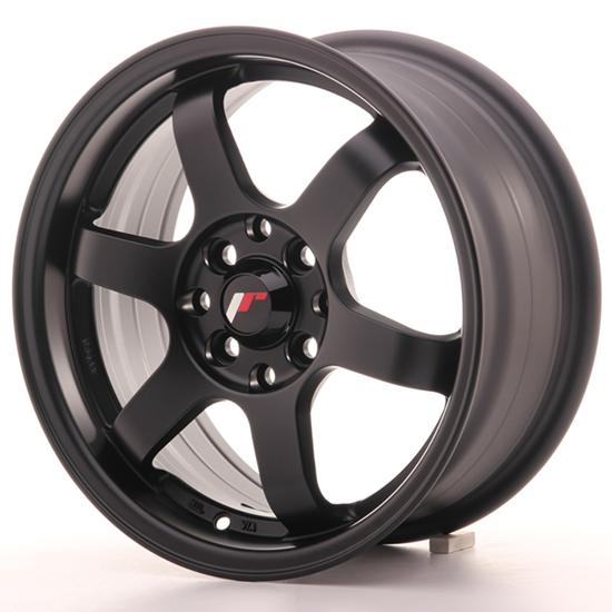 "16"" Japan Racing JR3 Matt Black Alloy Wheels"