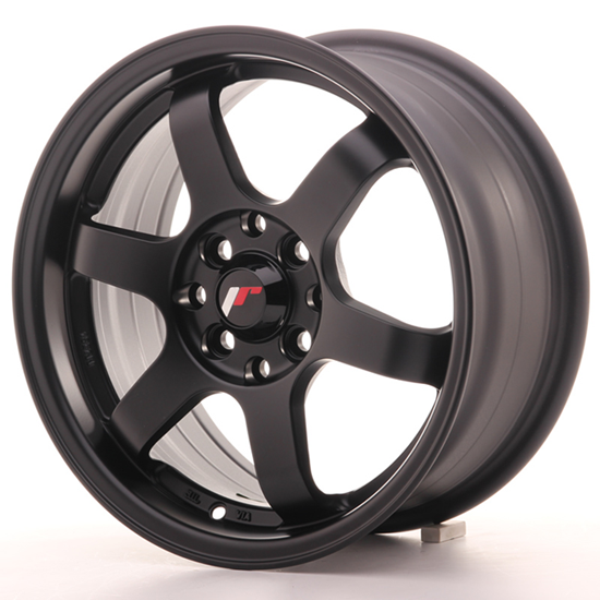 "17"" Japan Racing JR3 Matt Black Alloy Wheels"