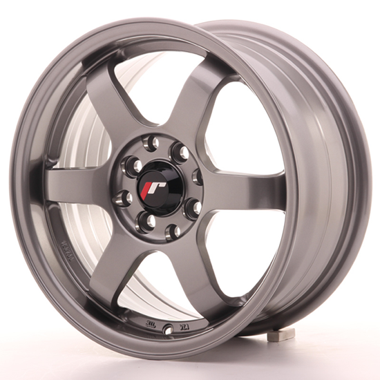 "17"" Japan Racing JR3 GunMetal Alloy Wheels"