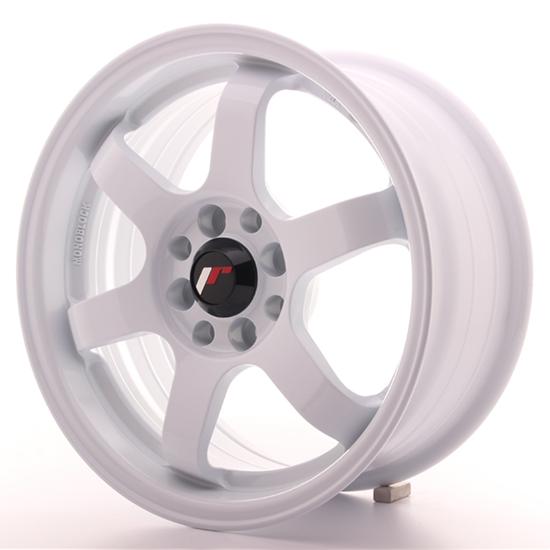 "17"" Japan Racing JR3 White Alloy Wheels"