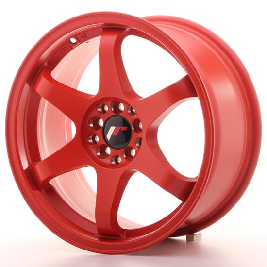 """17"""" Japan Racing JR3 Bloody Red Alloy Wheels"""
