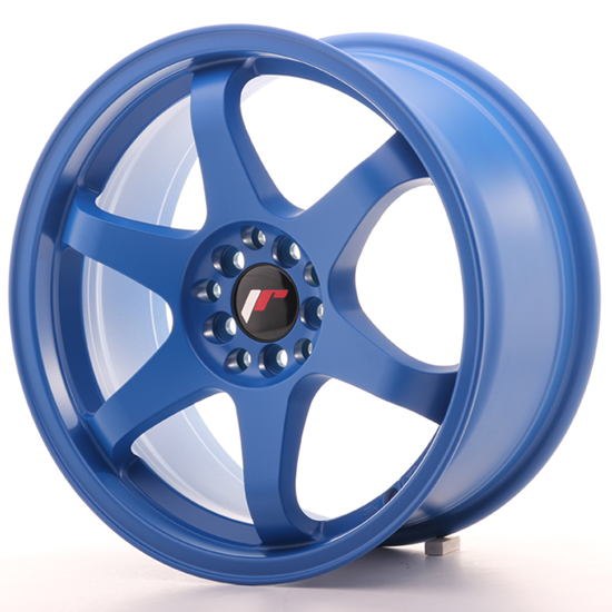 "17"" Japan Racing JR3 Blue Alloy Wheels"