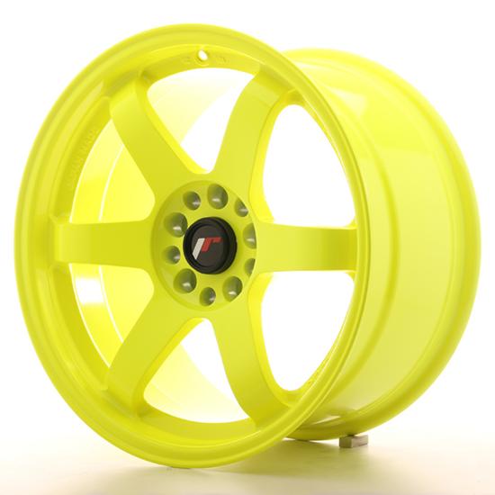 "18"" Japan Racing JR3 Lime Alloy Wheels"