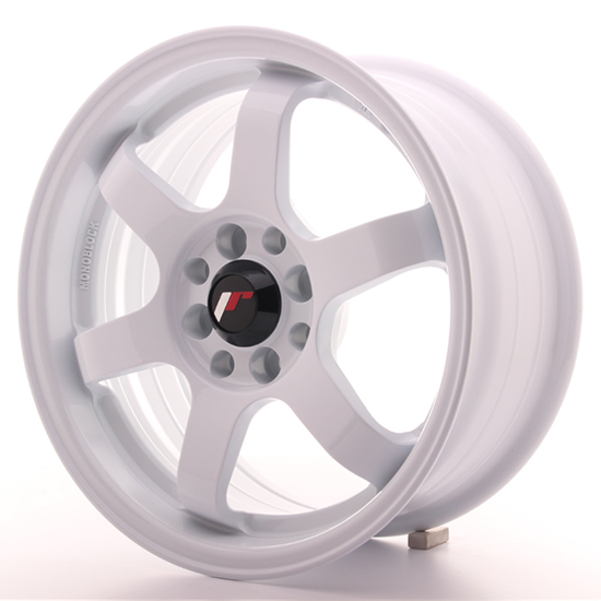 "19"" Japan Racing JR3 White Alloy Wheels"