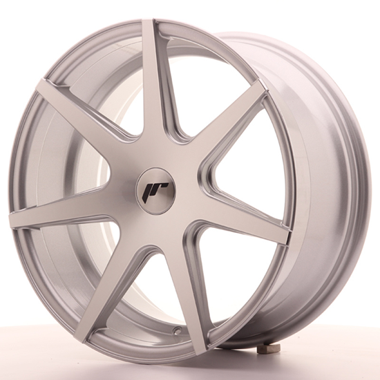 "20"" Japan Racing JR20 Silver Machined Alloy Wheels"