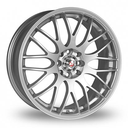 """18"""" Calibre Motion Silver Alloy Wheels"""
