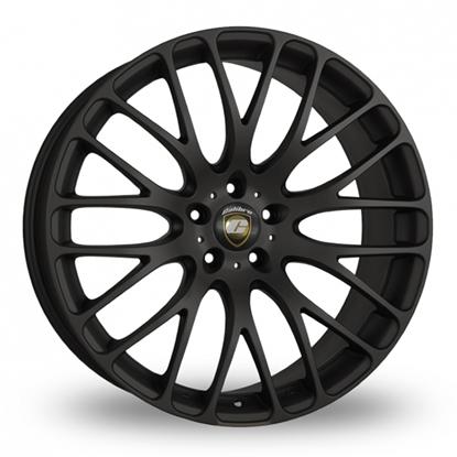 """20"""" Calibre Altus Matt Black Alloy Wheels"""