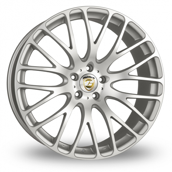 "22"" Calibre Altus Silver Polished Alloy Wheels"