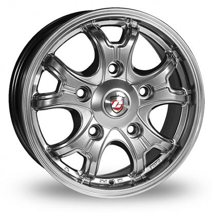 "16"" Calibre Dominator High Gloss Alloy Wheels"