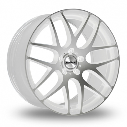 "20"" Calibre Exile-R White Polished Alloy Wheels"