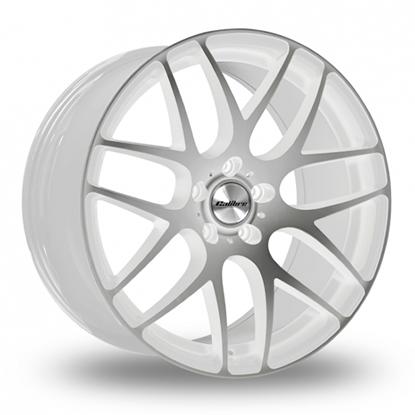 "18"" Calibre Exile-R White Polished Alloy Wheels"