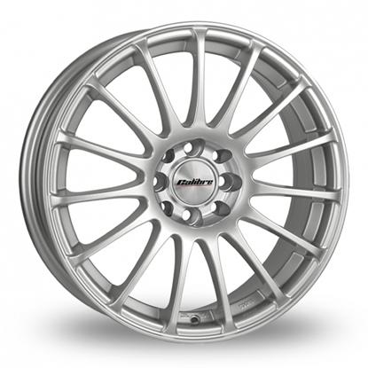 """15"""" Calibre Rapide Sparkle Silver Alloy Wheels"""