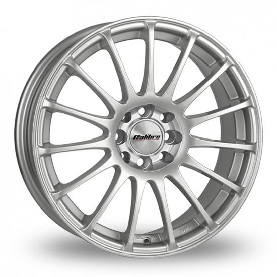 """17"""" Calibre Rapide Sparkle Silver Alloy Wheels"""